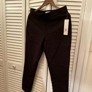 Calvin Klein pull up pants/leggings, black, straig